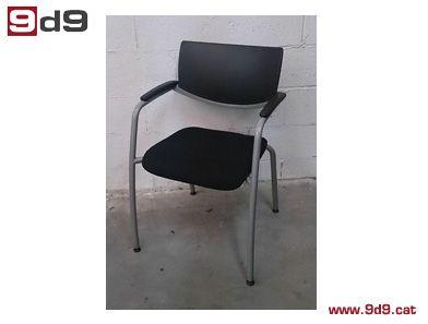 Mejores 40 im genes de sillas fijas en pinterest de - Sillas oficina segunda mano ...