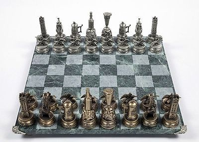 INCREDIBBLY RARE! VINTAGE! Anheuser-Busch Collectors Chess Set Budweiser