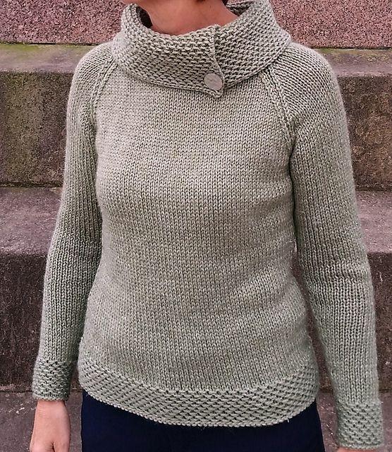 Ravelry: Boat Neck Sweater pattern by Scottish Sampler
