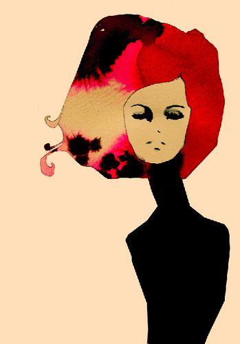 Love the textures in her hair!Koroleva Illustration, Ekaterinakoroleva, Fashion Models, Painting Illustration, New Fashion, Fashion Illustration, Girls Fashion, Fashion Trends, Ekaterina Koroleva
