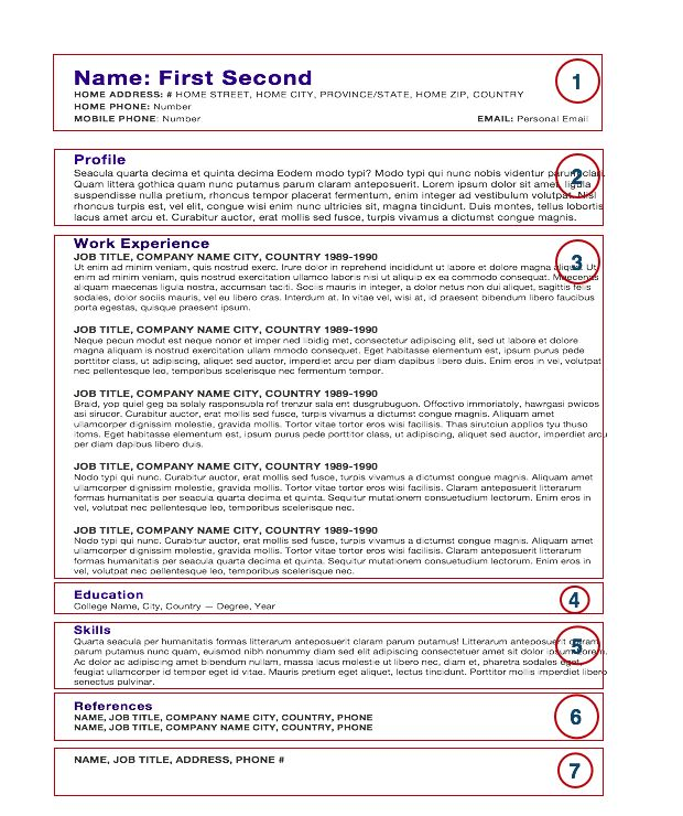 Resume Sample For Chef | Sample Resume And Free Resume Templates
