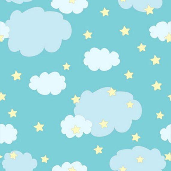 Newborns Vinyl Photography Backdrops Vintage Clouds Stars Photo Background Star Night Photoshoot B In 2020 Baby Boy Scrapbook Backdrops Baby Scrapbook