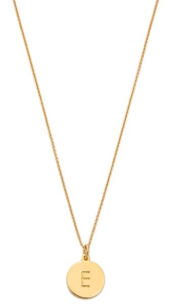 Kate Spade always has the perfect initial necklaces!