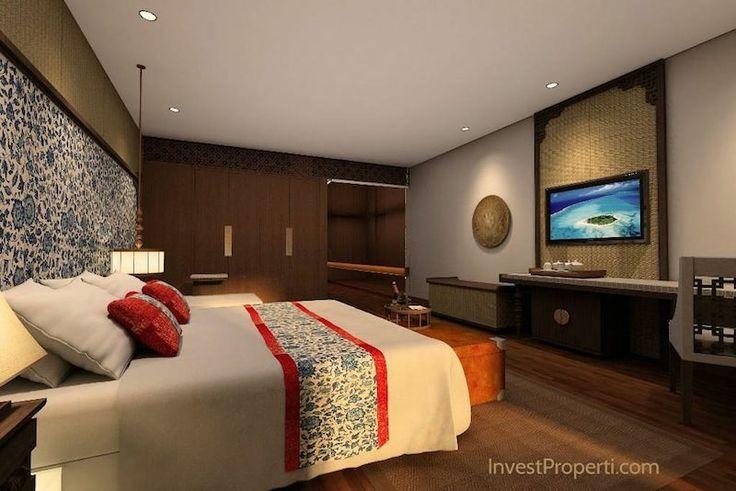 Meritus Seminyak hotel room.