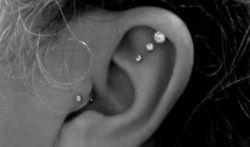 : Studs, Earpierc, So Cute, Piercing Ideas, Art, A Tattoo, Ears Piercing, Ink, Earrings
