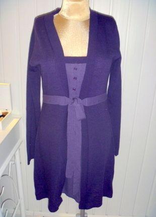 Kup mój przedmiot na #vintedpl http://www.vinted.pl/damska-odziez/krotkie-sukienki/9896597-piekna-fioletowa-sukienka-z-dlugim-rekawem