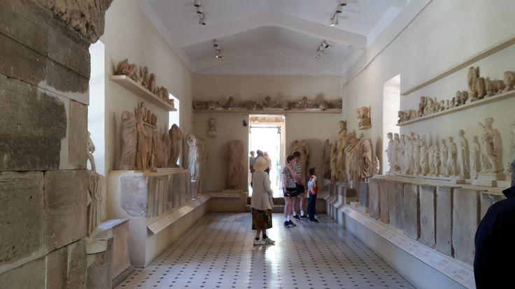 The museum in ancient Epidaurus!