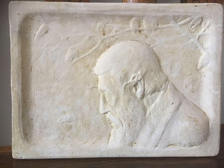 A personal favorite from my Etsy shop https://www.etsy.com/ca/listing/566104501/antique-plaster-plaque-wallhanging-cast