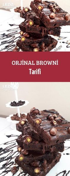 Orjinal Browni Tarifi – #Browni #Orjinal #Tarifi – Schoko Käsekuchen