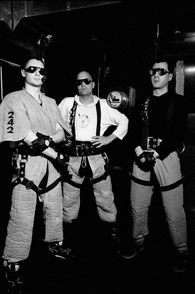 Front 242. After I saw them at Lollapalooza 93, I bought an album. I think they were playing when Martha lost her car keys in the mosh pit. I thought all hope was lost, but somehow we found them.