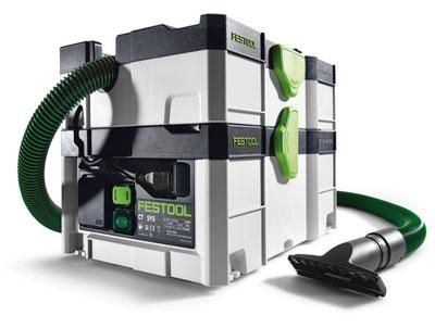 Ultra-Portable Festool CT-SYS Dust Extractor