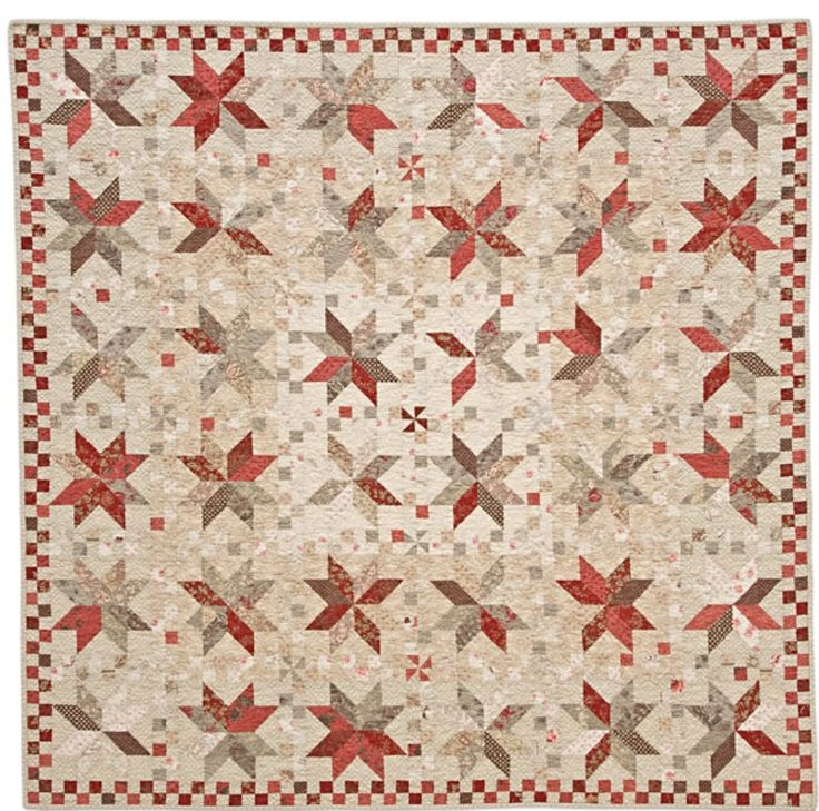 One of my favorite French General quilts of all time from Thimblecreek. I  started and someday I WILL finish it!