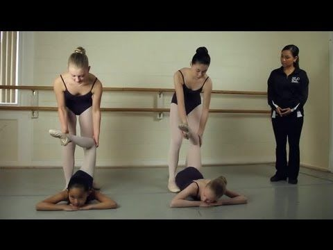 Back Stretching for Ballet Dancers : Ballet Lessons - YouTube