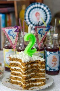 Интуитивная кухня: Звездный тортик на день рождения сына (без сахара)...