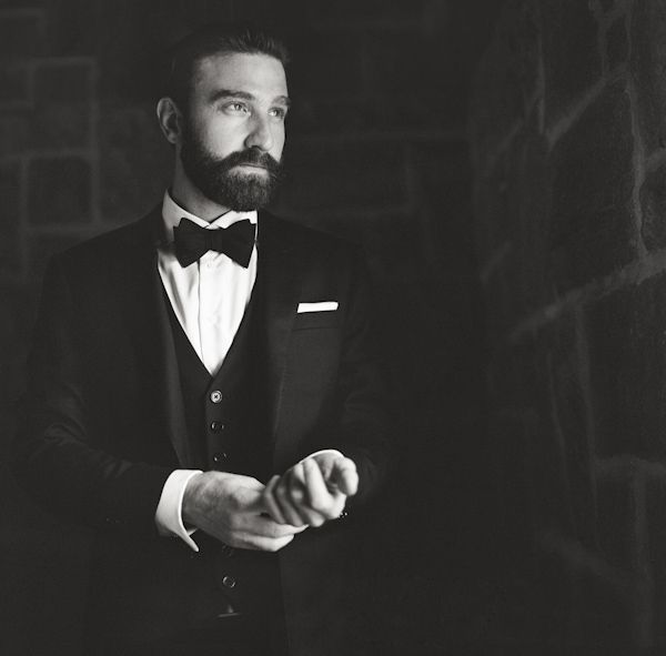 You can never go amiss with a classic tuxedo for the groom | JunebugWeddings.com Best of the Best 2013 Honorable Mention – Wedding Portraits, photo by Graham Scobey of Scobey Photography
