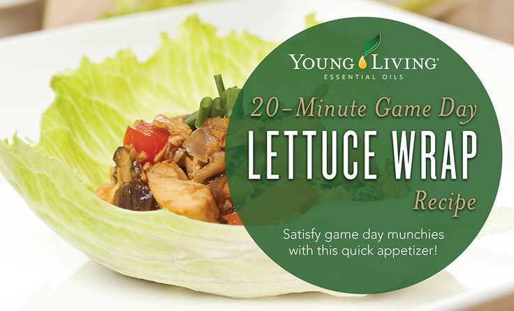 Thai-Style Lettuce Wraps | Young Living Blog