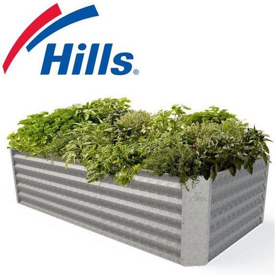 Hills Adda Instant Garden : Best hills self watering garden beds images on