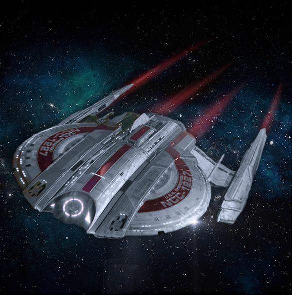 STD01 - Eaglemoss Star Trek USS Shenzhou NCC 1227