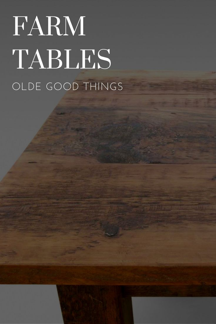 From Olde Good Things · Have Your Dining Room Farm Table Custom Made To Fit  Your Space! Http:
