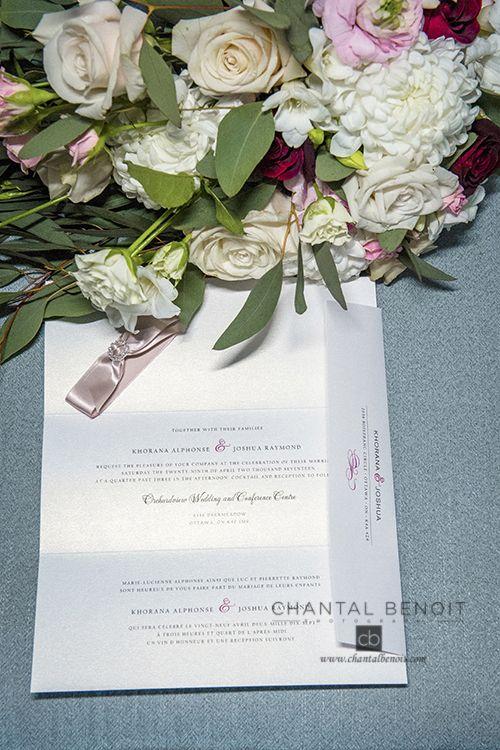 25 best ottawa wedding invitation images on pinterest ottawa pink wedding invitation for ottawa april wedding stopboris Choice Image