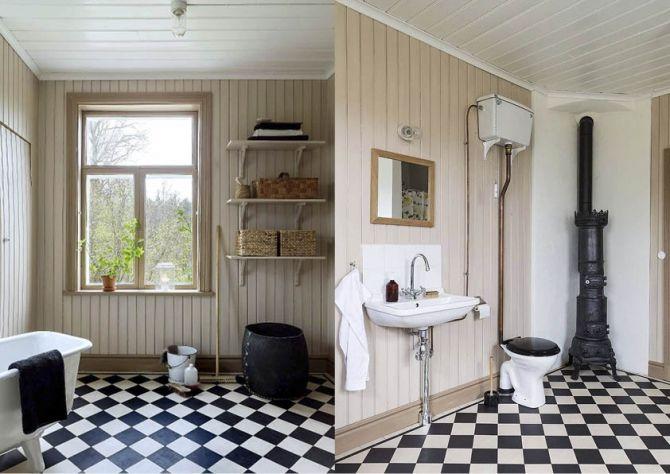 Åtta lantliga badrum ur några av våra fantastiska hemma hos-reportage!