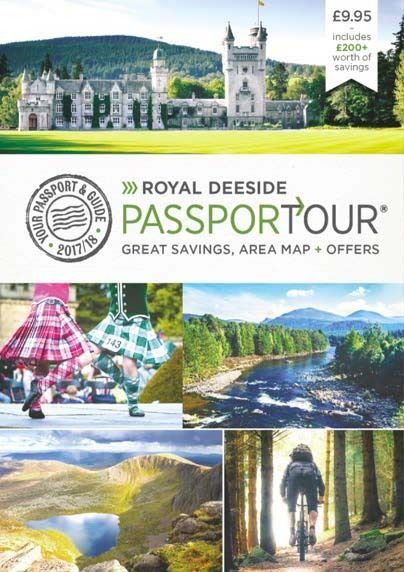 Royal Deeside PassporTour, Scotland Travel guide, map and discount vouchers