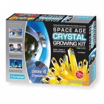 Så en egen kristall och se hur den växer dag för dag. Spännande experiment för nyfikna barn från 12 år.