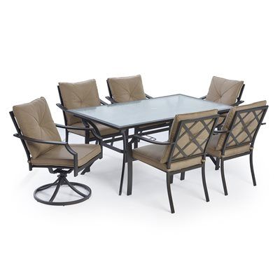 Garden Treasures Vinehaven Patio Dining Chair (Set of 4)