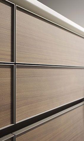 eggersmann modern kitchen | aluminium walnut | id_details, Hause ideen