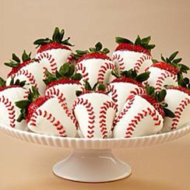 #Baseball #softball #strawberries @Rachel R Brown