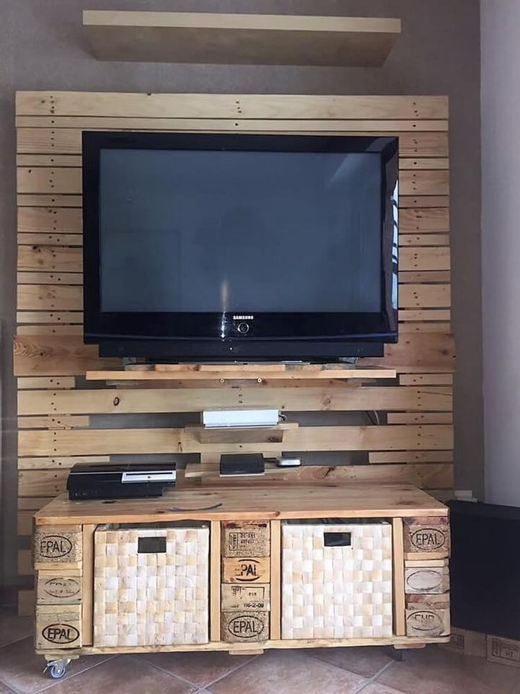 top 25 best pallet entertainment centers ideas on