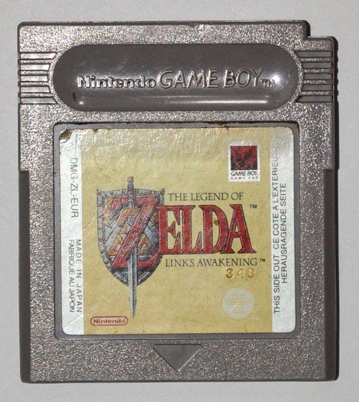 Original Nintendo GAME BOY The Legend of ZELDA Link's Awakening Game Pak, Tested