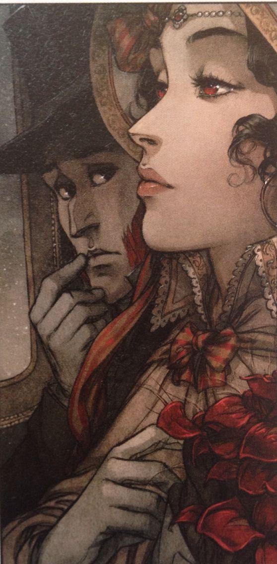 La Guerre des Sambre, Hugo & Iris (Chapitre 2) Yslaire, dessin de Bastide & Mezil