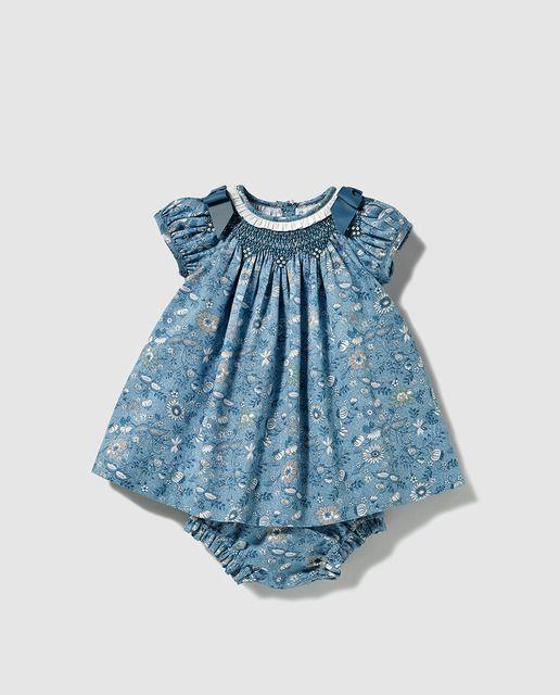 c371f0afb Vestido tipo body de bebe niña Dulces estampado
