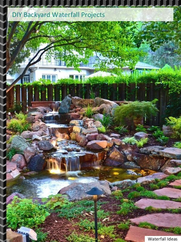 5 Great And Tranquil Backyard Waterfall Ideas Waterfalls