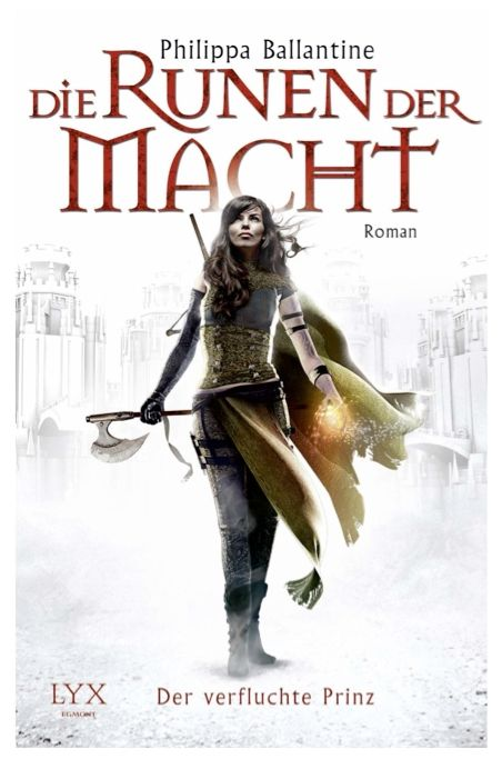 The German edition of Geist. The Cursed Prince.