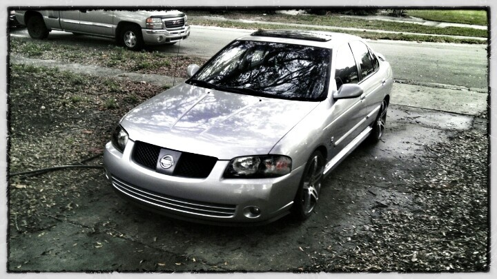 2004 Nissan Sentra SE-R Spec V A true sleeper with close to 200hp and lbft.
