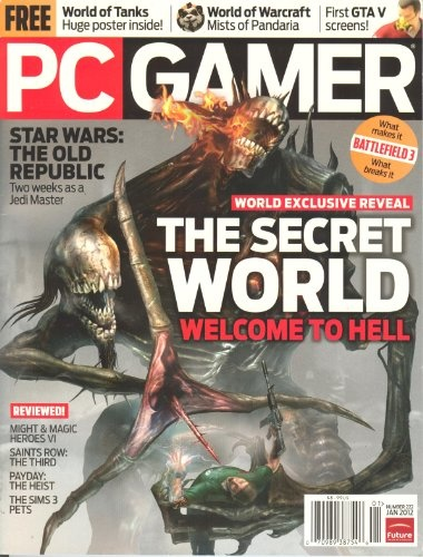 PC Gamer Magazine # 222 January 2012 « Library User Group