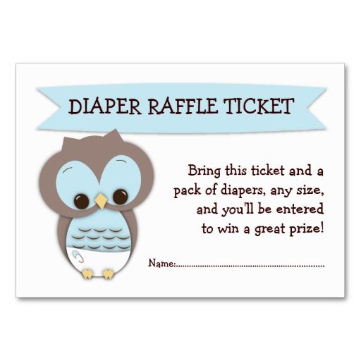 Printable Templates Free Diaper Raffle Ticket Template Download