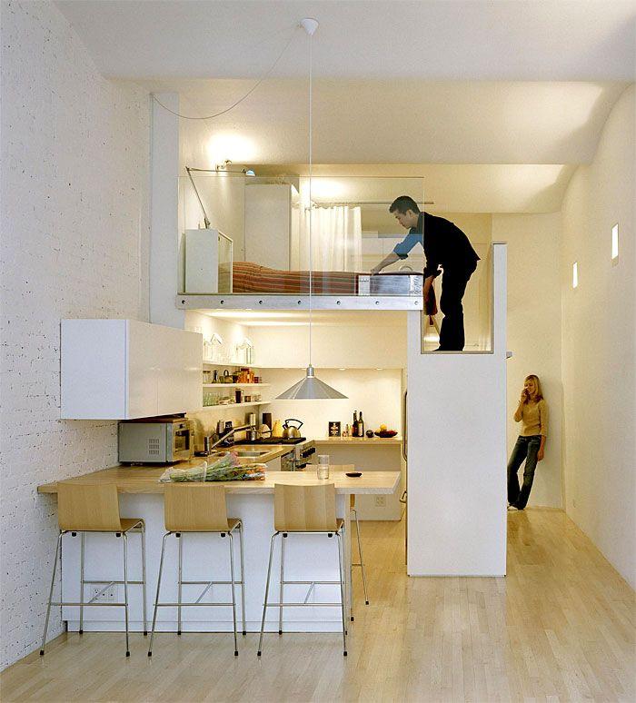 50 Small Studio Apartment Design Ideas 2020 Modern Tiny Clever Apartment Design Small Loft Spaces Loft Interiors