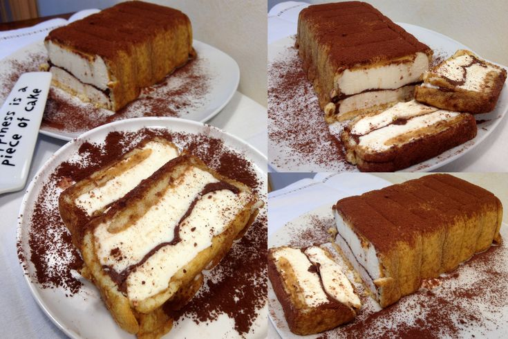 Semifreddo Pavesini Panna e Nutella