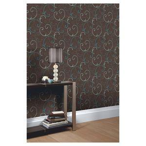 Eco Celeste Wallpaper Teal 10m