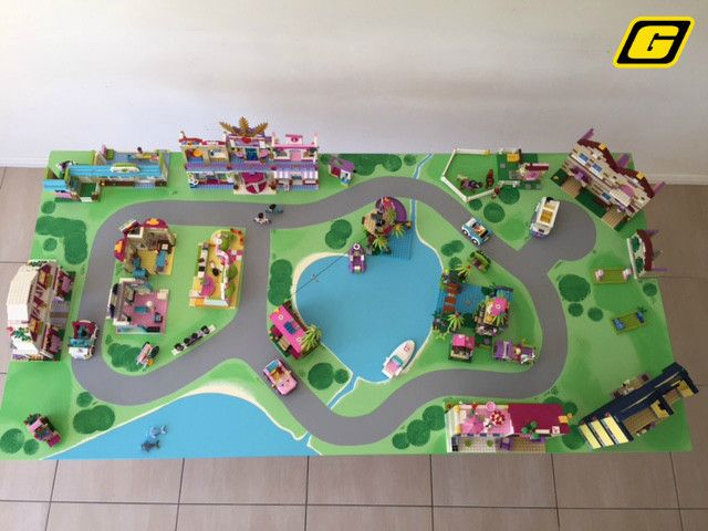 Lego Friends Heartlake City Theme Premium Play Table For