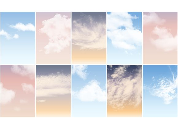 I just released Cloud Brushes and Sky actions on Creative Market.