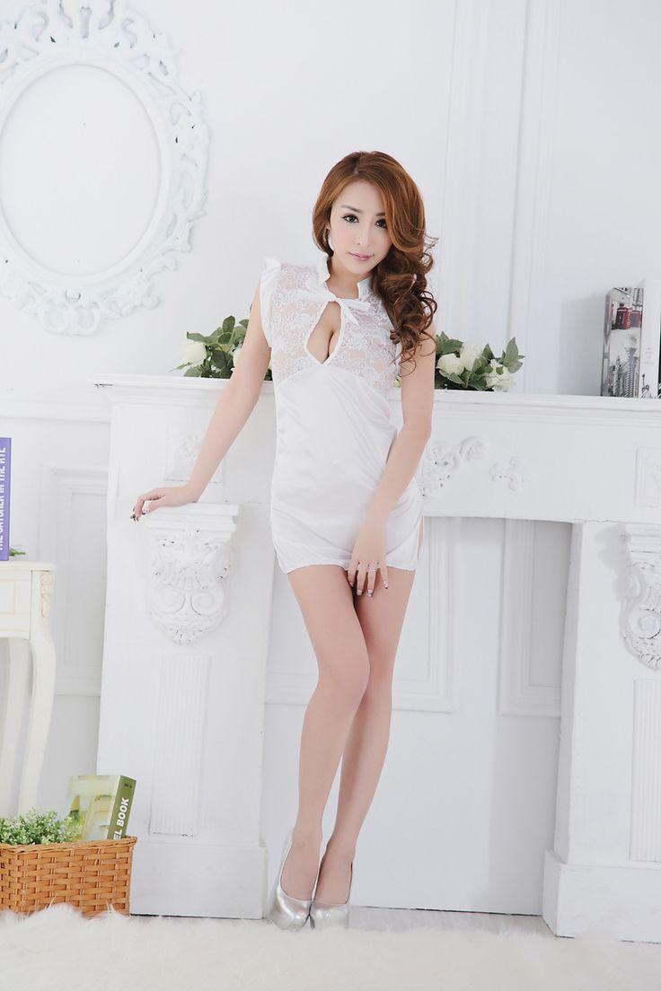 Sexy Lace Sleeveless Mini Dress