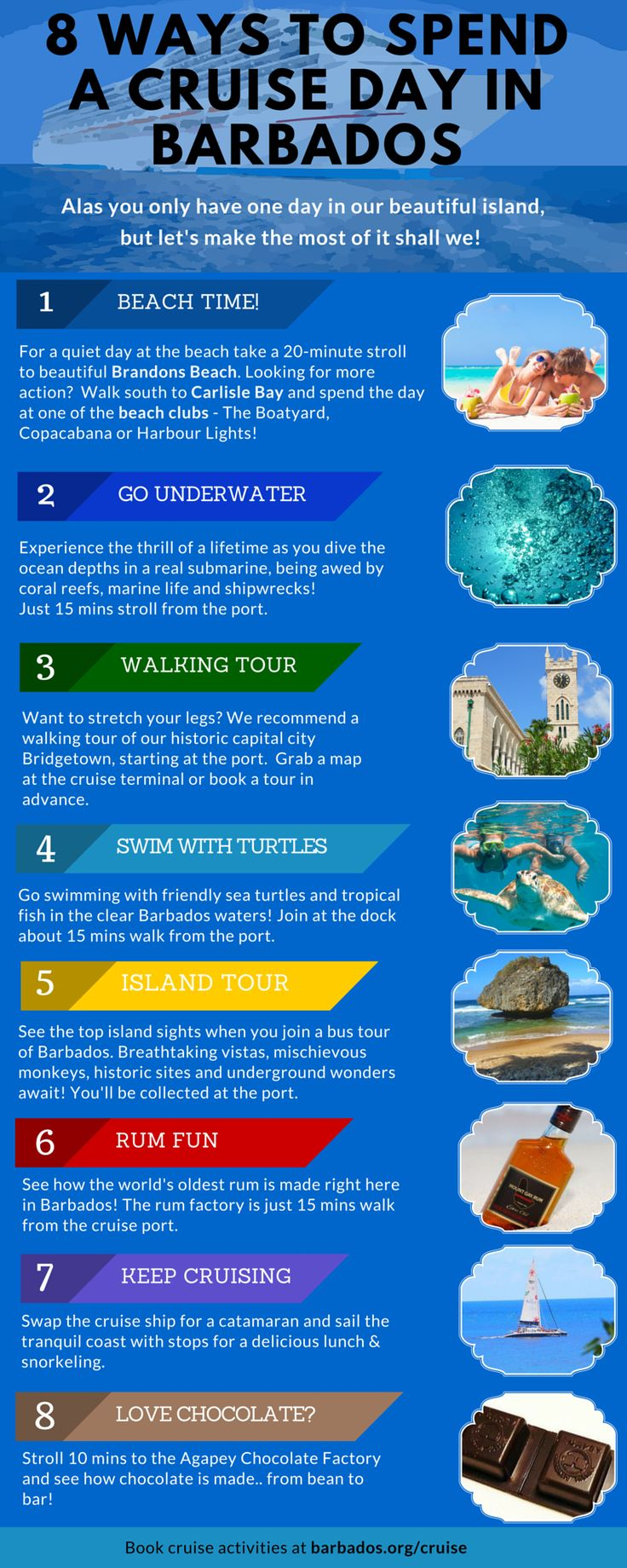 8 Great Ways To Spend A Cruise