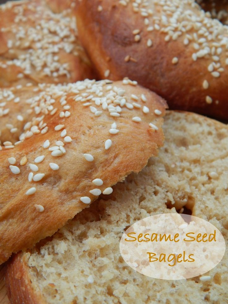 The mystery of the humble bagel discovered – Sesame Seed Bagels #Yum #bagel
