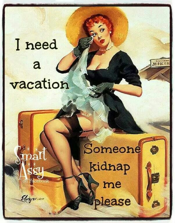 We love vintage and pinup quotes! :) lookdivine.com