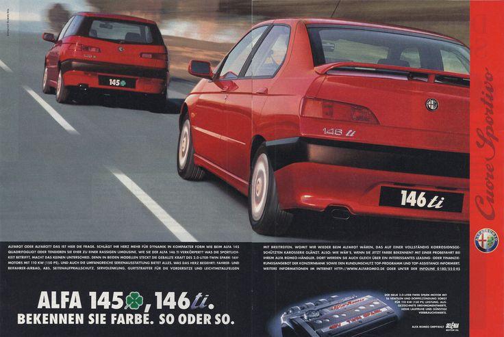 https://flic.kr/p/fJ4Whm   Reklame Alfa Romeo 145 & 146 (1996)