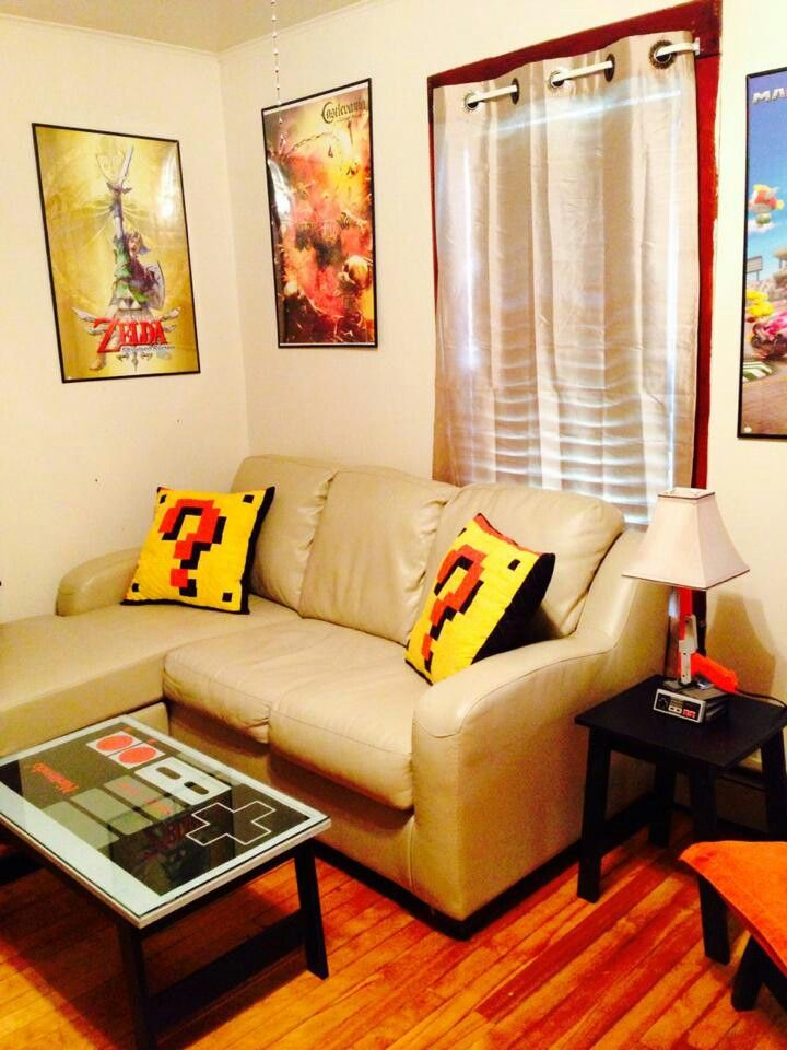 Nintendo themed room